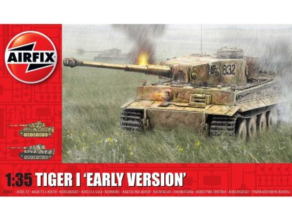 Classic Kit tank A1363 - Tiger-1, Early Version (1:35)