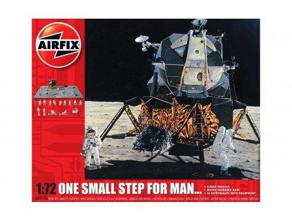 Classic Kit vesmír A50106 - One Step for Man 50th Anniversary of 1st Manned Moon Landing (1:72)