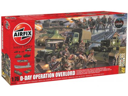 Gift Set diorama A50162A - D-Day 75th Anniversary Operation Overlord (1:76)