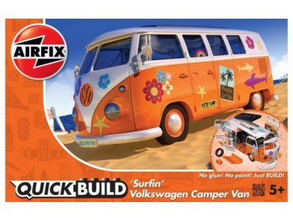 Quick Build auto J6032 - VW Camper Surfin'