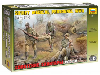 Model Kit figurky 3618 - Soviet Medical Personnel WWII (1:35)