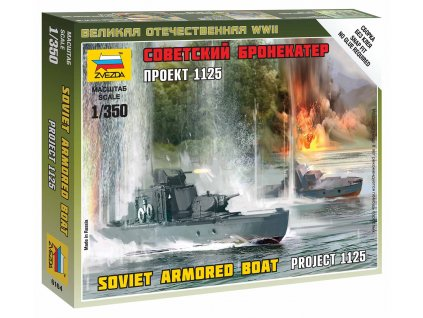 Wargames (WWII) loď 6164 - Soviet Armored Boat (1:350)