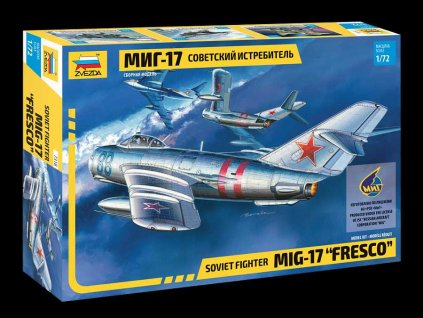 "Model Kit letadlo 7318 - MIG-17 ""Fresco"" (1:72)"