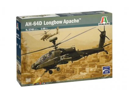 Model Kit vrtulník 2748 - AH-64D LONGBOW APACHE (1:48)