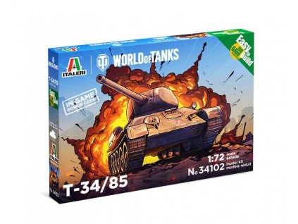Easy to Build World of Tanks 34102 - T 34/85 (1:72)