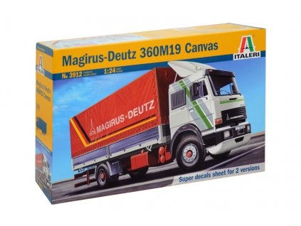 Model Kit auto 3912 - MAGIRUS DEUTZ 360M19 CANVAS (1:24)