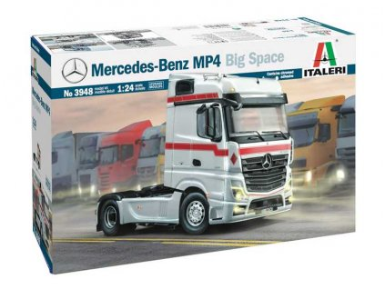 Model Kit truck 3948 - Mercedes-Benz MP4 Big Space (1:24)