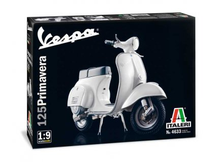 Model Kit motorka 4633 - VESPA 125 PRIMAVERA (1:9)