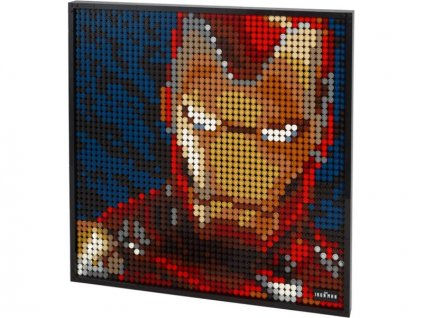 LEGO Art 2020 - Iron Man od Marvelu