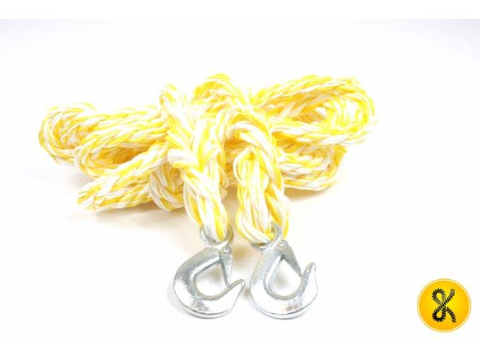 Tažné lano s háky