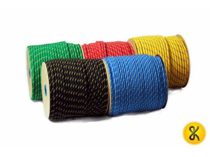 Polypropylenové lano pletené 48
