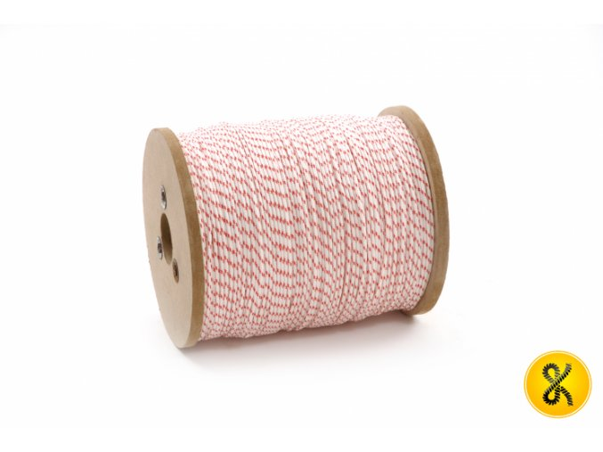 Polyamidové lano 16 - bílé
