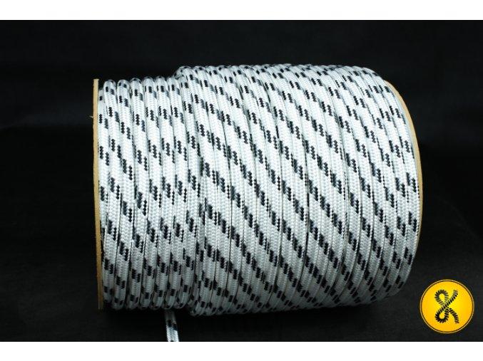 Polyesterové lano 24 - bílé