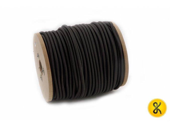 Elastické lano - černé