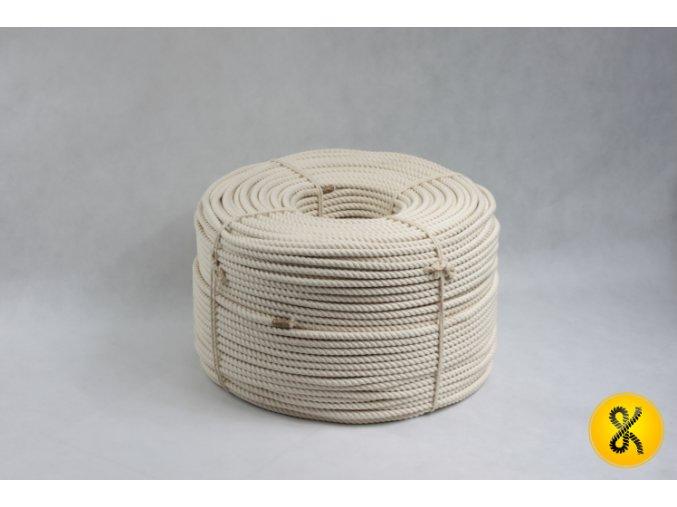 Bavlněné lano stáčené