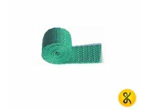 Polypropylenový pás 50 m - zelený