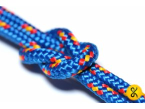 Polypropylenové lano pletené 16 - modré