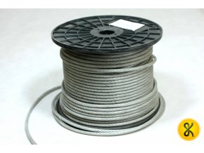 Pozinkované ocelové lano PVC