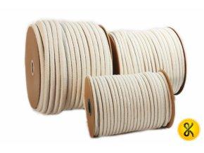 Bavlněné lano pletené