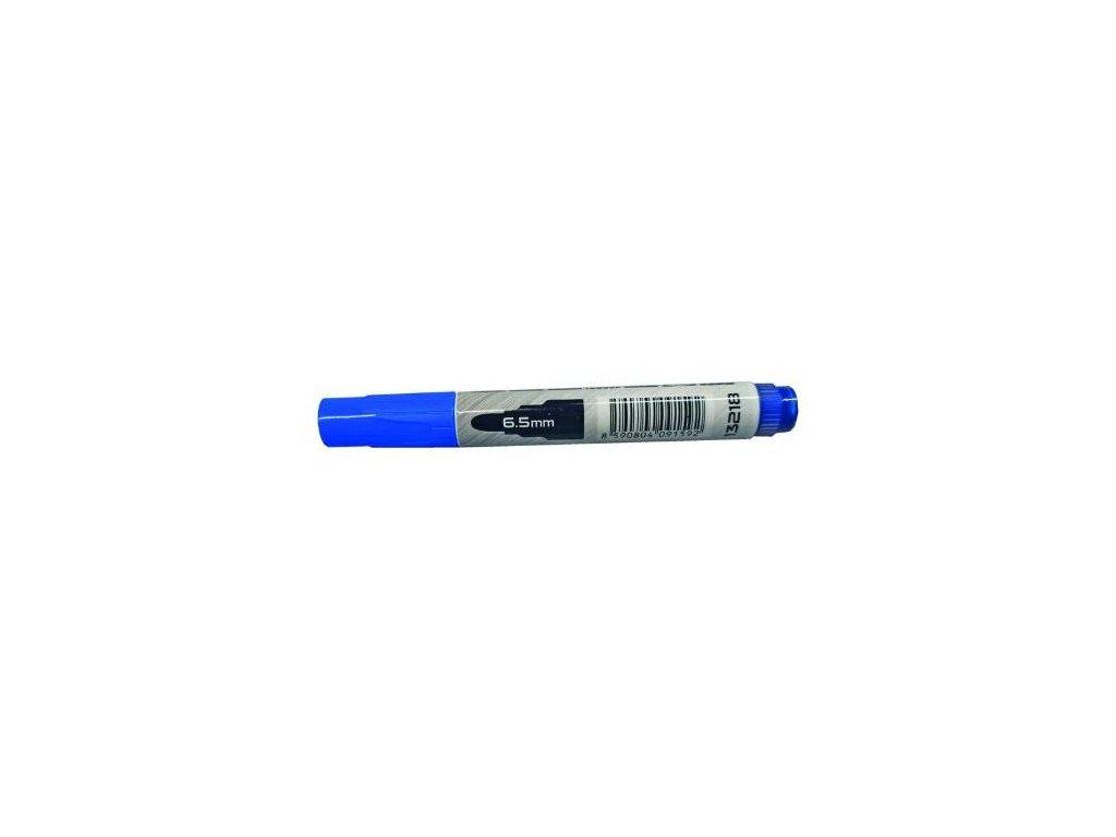 Popisovač permanentní, tlustý hrot, modrý