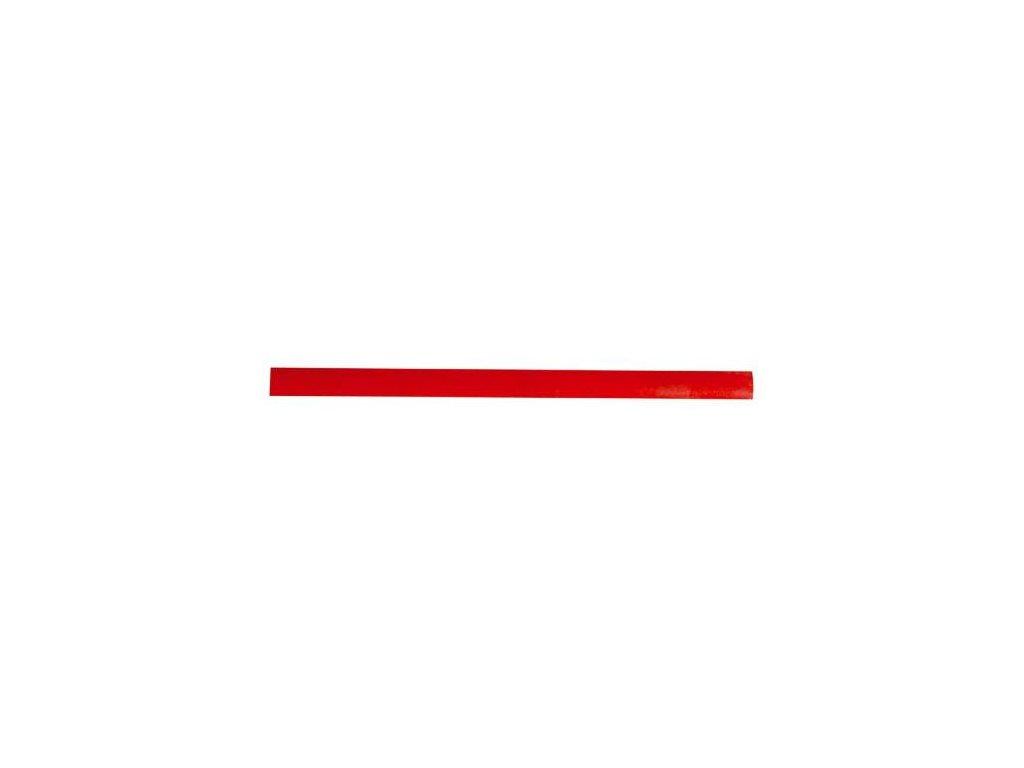 Tužka tesařská, 180 mm, červený lak