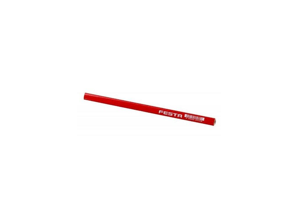 Tužka tesařská, trojhranná, HB, 250 mm, FESTA