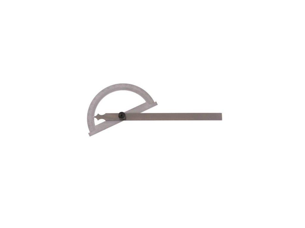 Úhloměr, otočné rameno, 0 - 180°, 150 x 200 mm