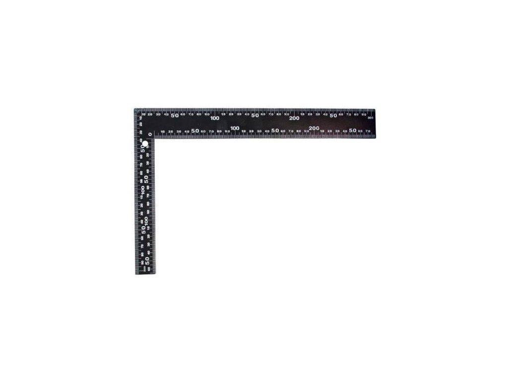 Úhelník černý, 600 x 400 mm