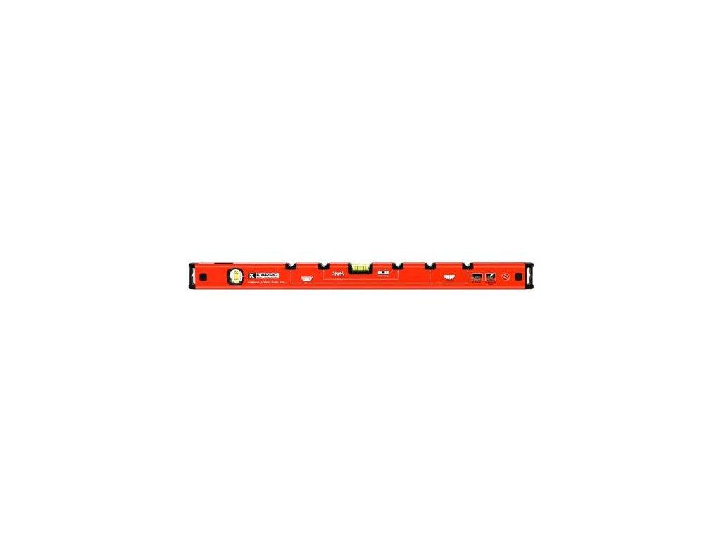Vodováha dvoulibelová instalatérská s magnetem, 700 mm, KAPRO 27550