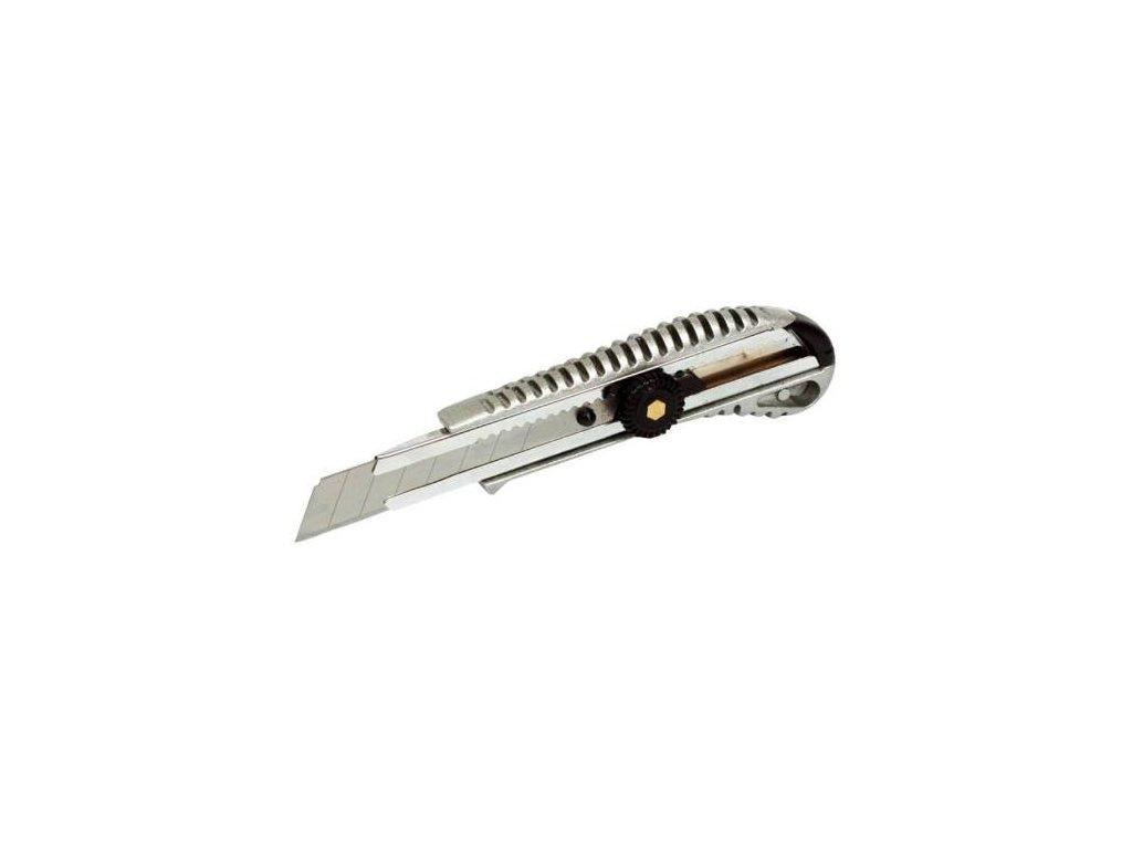 Nůž odlamovací ALU celokovový, 18 mm
