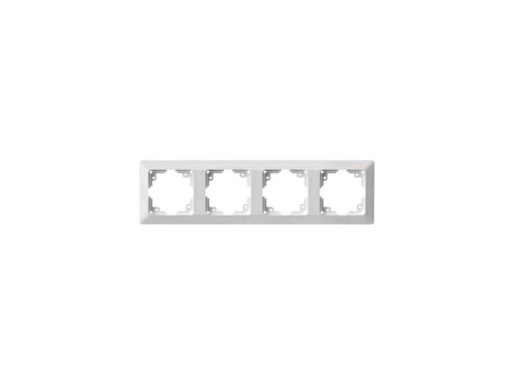 Rámeček čtyřnásobný, bílý