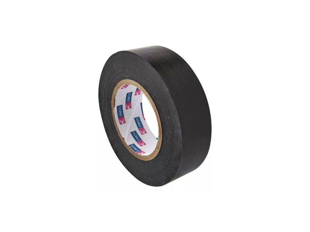 Páska izolační, 19 mm x 10 m, černá