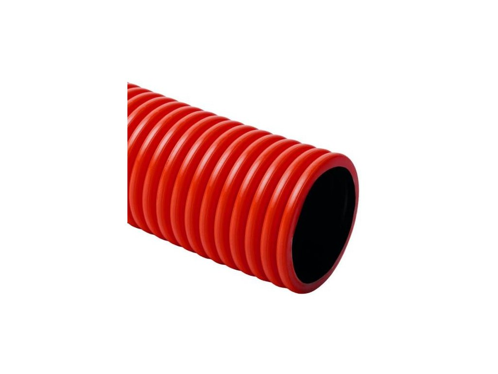 Chránička dvouplášťová, 450N, 52/63 mm, 50 m, červená, KOPOFLEX