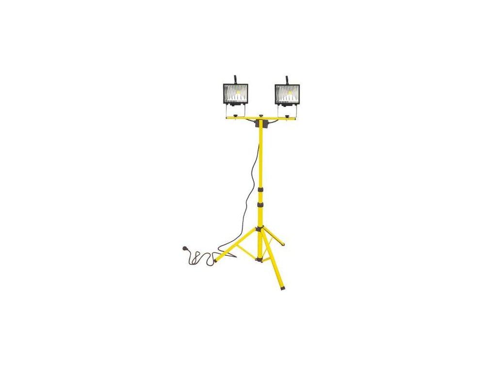 LED stavební světlo 2 x 20W, teleskopické