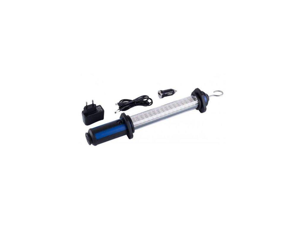 Svítilna přenosná nabíjecí LED, 60 diod