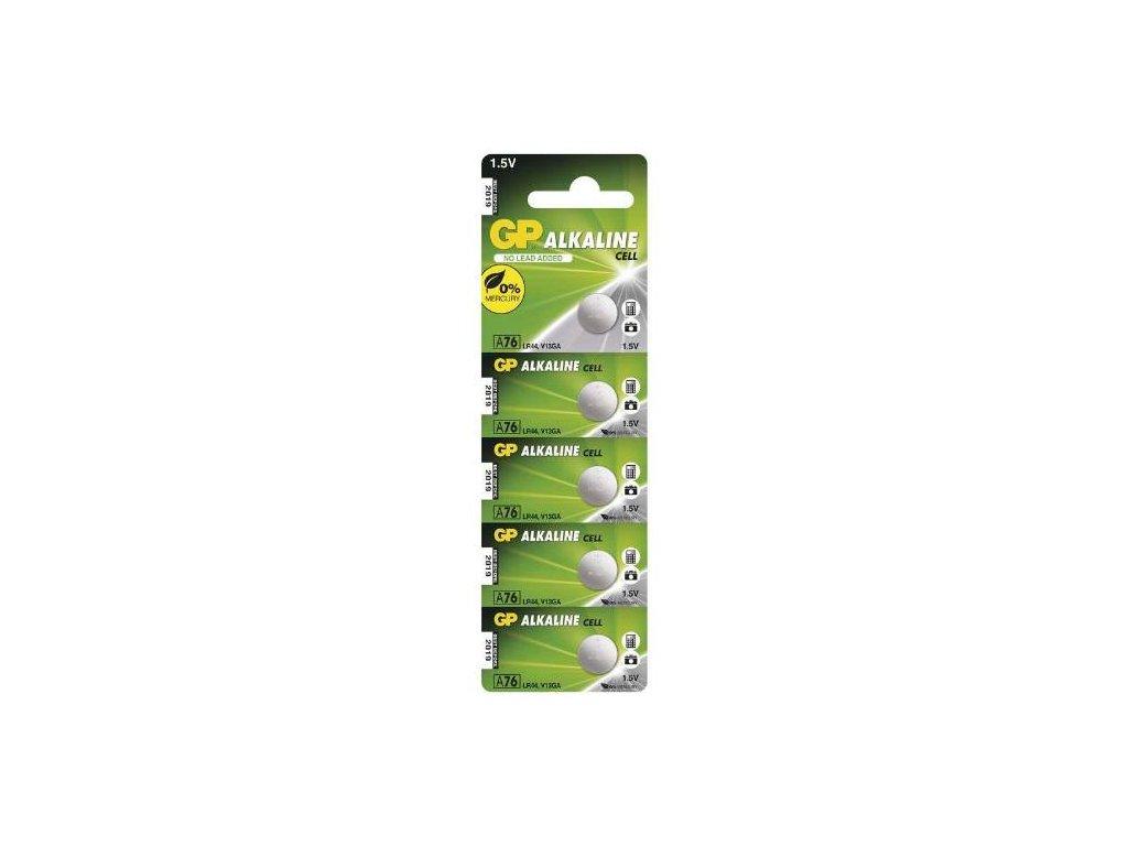 Baterie GP LR44 A76, 5BL, blistr