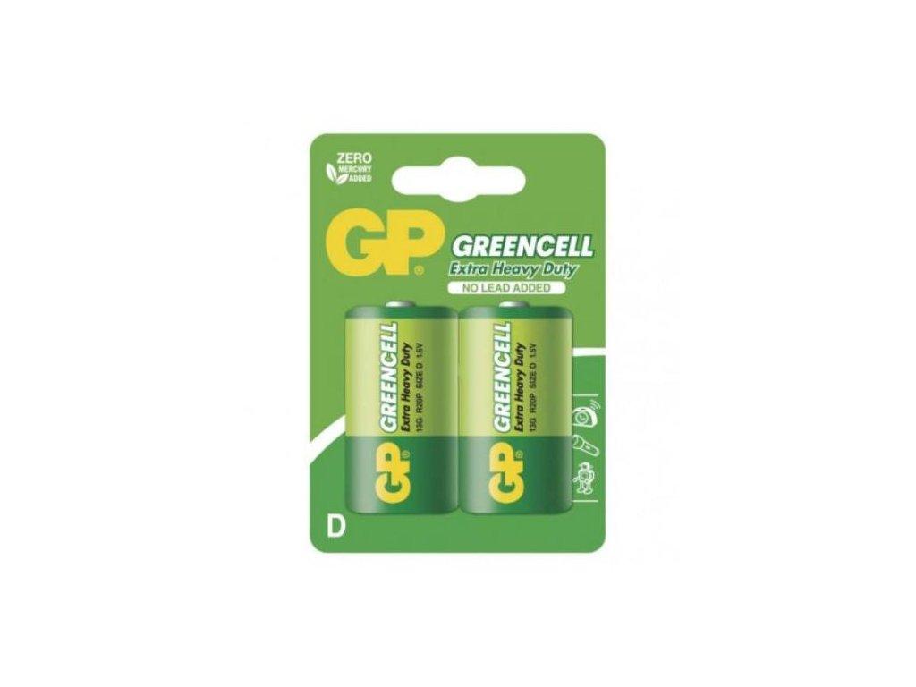 Baterie GP 13G R20 D, blistr
