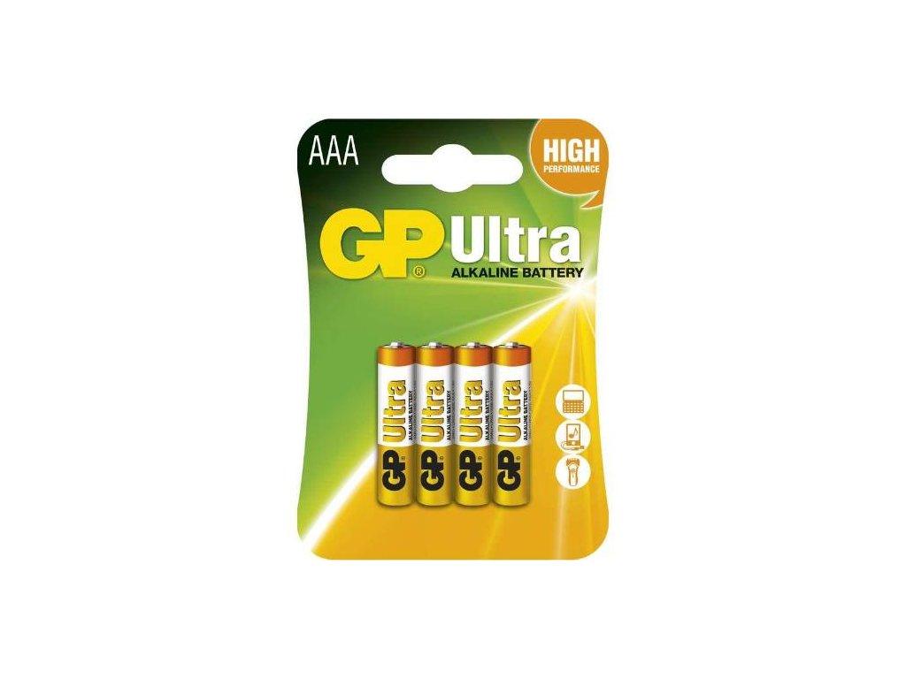 Baterie GP 24AU LR03 AAA, blistr
