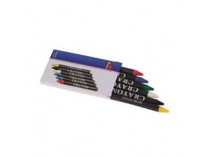 Tužky voskové, sada 6 ks