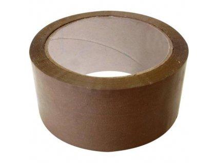 Páska lepicí, 48 mm x 66 m, transparentní
