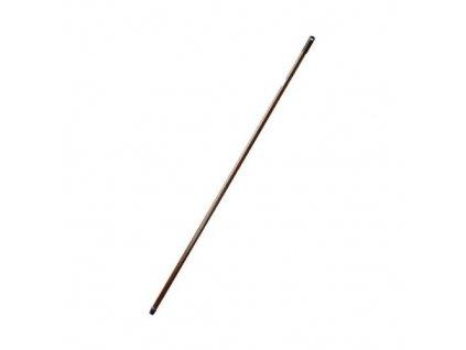 Násada na smeták kovová, 130 cm, s hrubým závitem