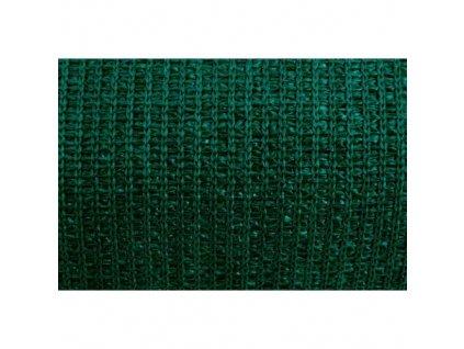 Tkanina stínící HDPE, 80 g/m2, UV stabilní, 1,5 x 10 m, zelená