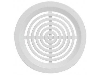 Mřížka větrací kruhová VM, Ø 50 mm, 4 ks, bílá 0413