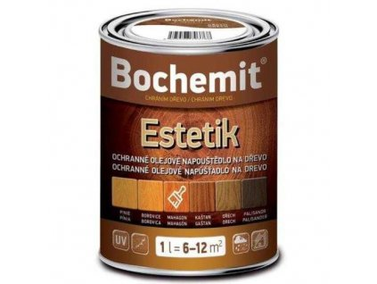 Bochemit Estetik Kaštan 1 , olejové napouštědlo na dřevo