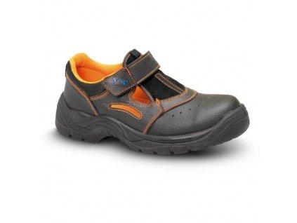 Sandál bezpečnostní celokožený MINSK 3135 - S1, velikost 37