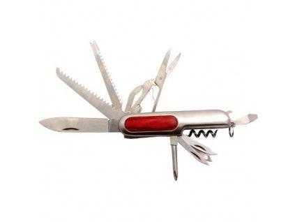Nůž kapesní multifunkční INOX