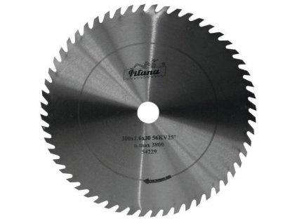 Kotouč pilový na dřevo, 5310 - 56 zubů KV25°, Ø 250 x 1,6 x 30 mm, PILANA