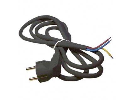 Šňůra flexo PVC, 3 x 1,0 mm², H05VV-F 3G, 3 m