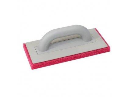 Hladítko s molitanem hrubým, 280 x 140 mm, obyčejná rukojeť
