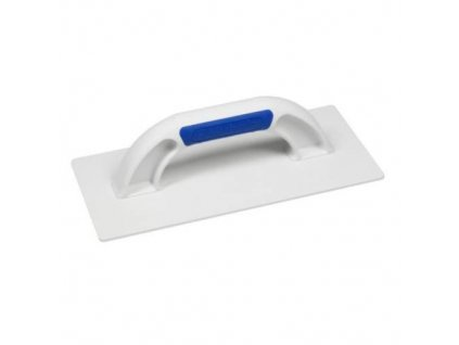 Hladítko plastové hladké, 270 x 130 mm, rukojeť BM